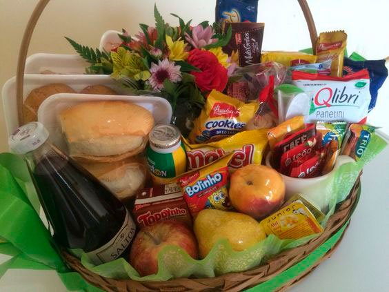 Full breakfast basket for Mother's Day