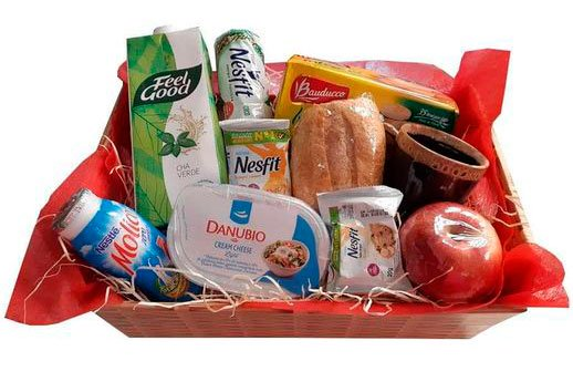 Fitness basket for Mother's Day