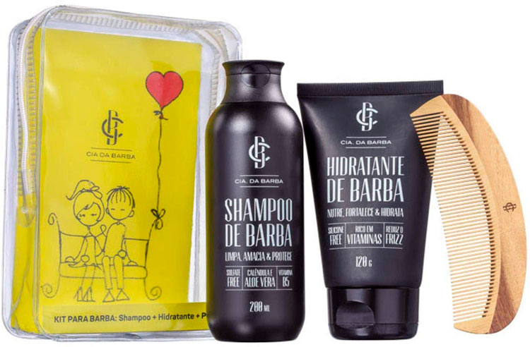 Birthday gifts for boyfriend »Beard care kit
