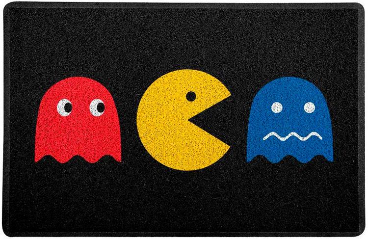 Gifts for nerdy boyfriend »Pac-man rug