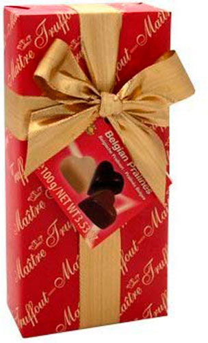 Imported chocolate for chocoholic mom