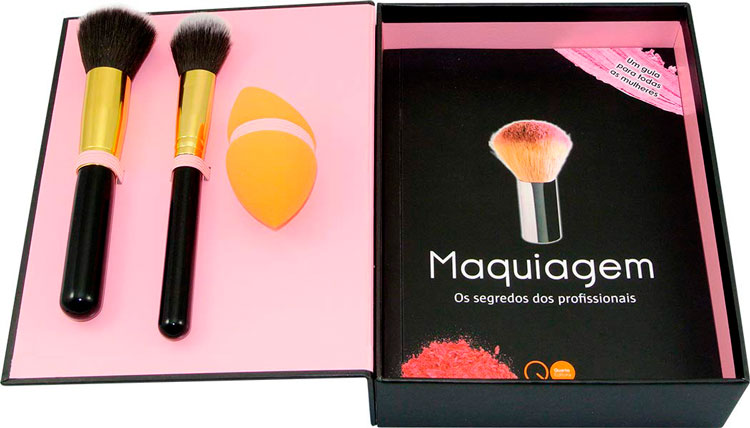 Gift ideas for Mother's Day »Book and makeup kit