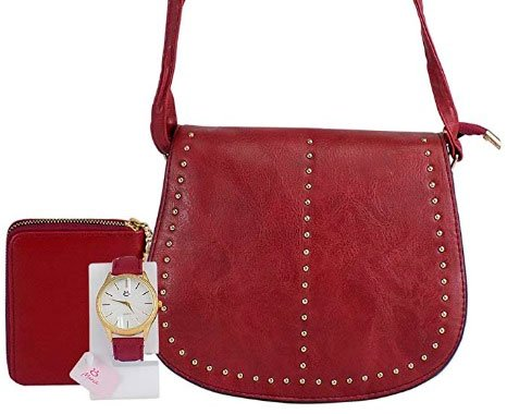 Kit bag, watch and wallet for your mother