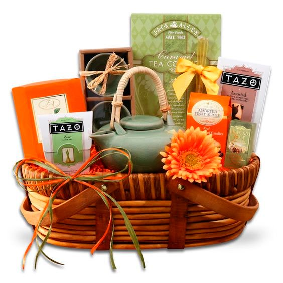 Tea basket for Mother's Day