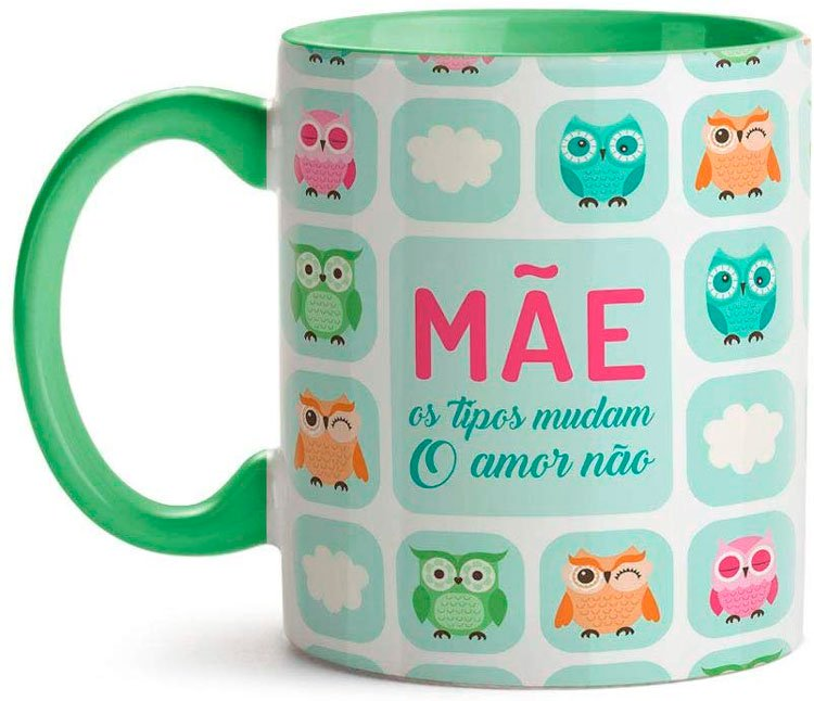 Personalized mug for owl mother
