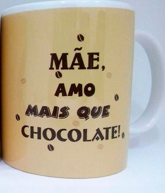 Mug for Mother's Day amo mai que chocolate
