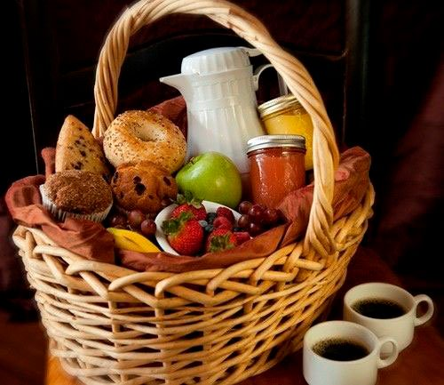 Breakfast basket for Mother's Day