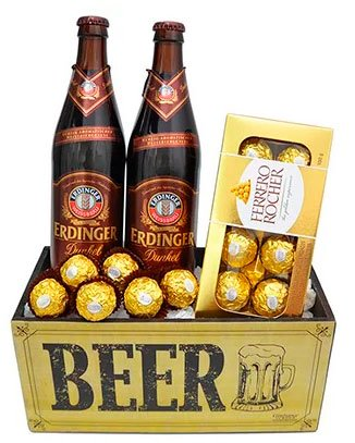 Beer and chocolate for Mother's Day