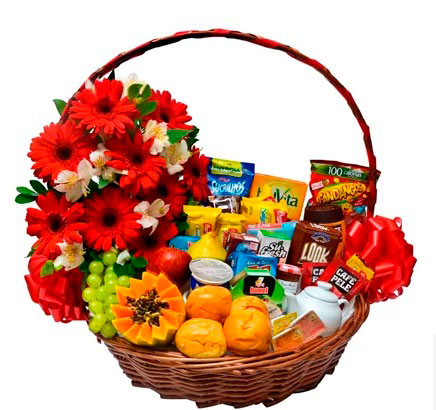 Full breakfast baskets for Mother's Day