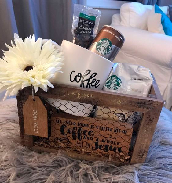 Coffee Basket for Mother's Day