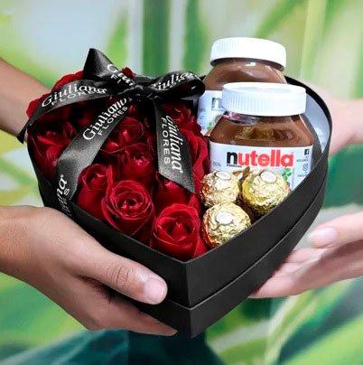 Gift Nutella Basket for Girlfriend