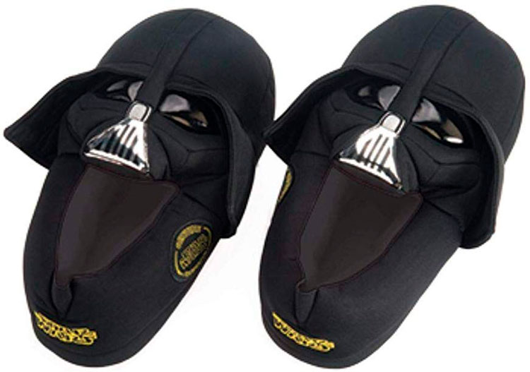 Birthday gifts for friend »Darth Vader Pantufa