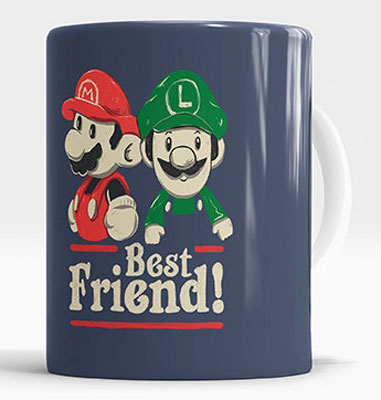 Personalized mug for the gamer friend