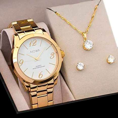 Watch and necklace kit to give to wife