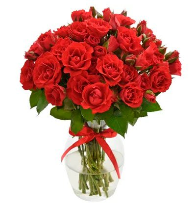 Birthday gifts for wife »Arrangement of red roses