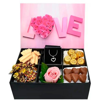 Box of chocolates for your loved one