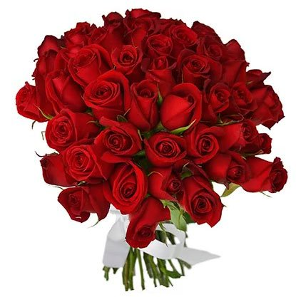 Bouquet of red roses to enchant your loved one