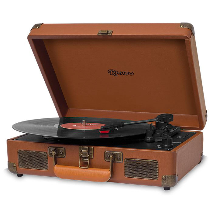 Gift record player for girlfriend in love with music