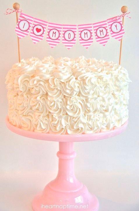 Topper for mom cake
