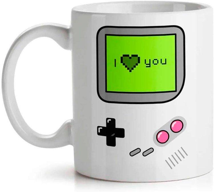 Gamer mug for girlfriend