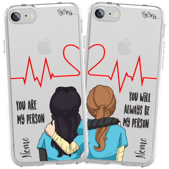 Personalized cell phone case for friend