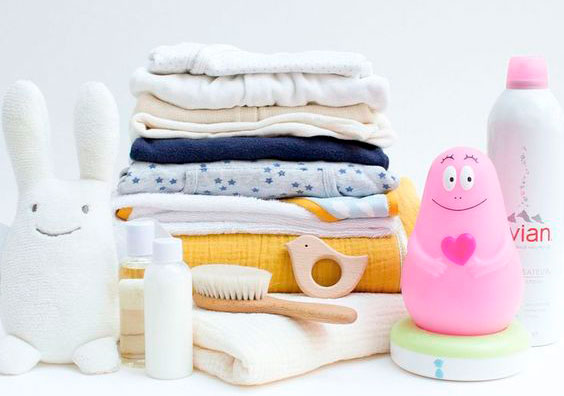 Wash baby's clothes before putting in the maternity bag