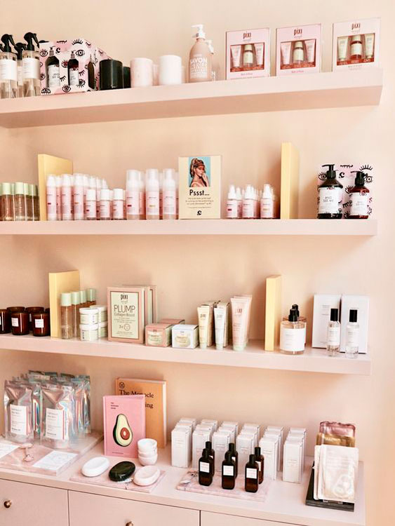 Open a cosmetics store