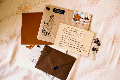 Write a letter to your mother