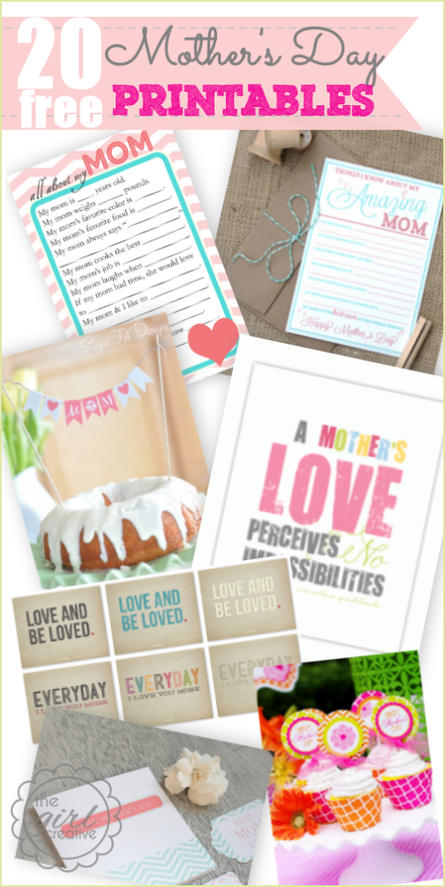 Simple Gifts for Mothers Day 2